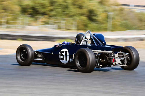 "Jason Zide - 1970 Titan Mk6 in Group 6 Formula Ford ""Crossflow Cup"" at the 2019 CSRG Charity Challenge run at Sears Point Raceway"