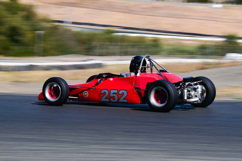"Jack Wilson - 1971 Winkelman WDF3 in Group 6 Formula Ford ""Crossflow Cup"" at the 2019 CSRG Charity Challenge run at Sears Point Raceway"