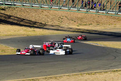 Group 7 F5000, Formula Atlantic & FIA Group 6 & 7 (Can-Am) cars at the 2019 CSRG Charity Challenge run at Sears Point Raceway