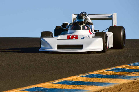 Allen Nicholas - 1978 March 78 B in Group 7 F5000, Formula Atlantic & FIA Group 6 & 7 (Can-Am) cars at the 2019 CSRG Charity Challenge run at Sears Point Raceway