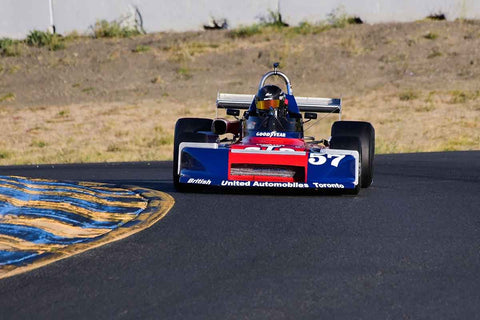 Alex Garden - 1978 March 78B in Group 7 F5000, Formula Atlantic & FIA Group 6 & 7 (Can-Am) cars at the 2019 CSRG Charity Challenge run at Sears Point Raceway