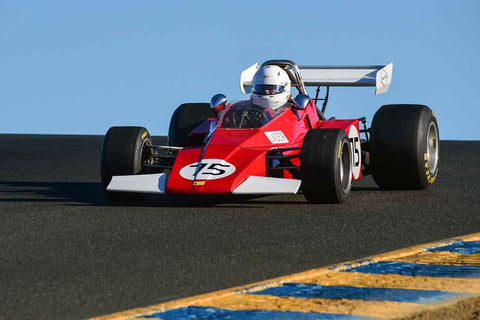 Collin Jackson - 1973 Brabham BT40 in Group 7 F5000, Formula Atlantic & FIA Group 6 & 7 (Can-Am) cars at the 2019 CSRG Charity Challenge run at Sears Point Raceway