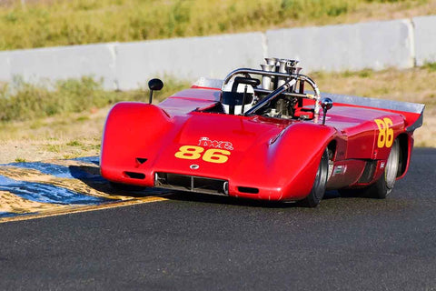 Ian Wood - 1970 McLaren M12 in Group 7 F5000, Formula Atlantic & FIA Group 6 & 7 (Can-Am) cars at the 2019 CSRG Charity Challenge run at Sears Point Raceway