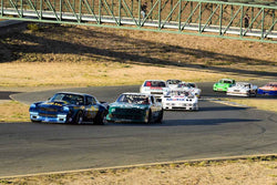 Group 8 SCCA Trans-Am, A-Sedans, ISA GTU& GTO cars at the 2019 CSRG Charity Challenge run at Sears Point Raceway