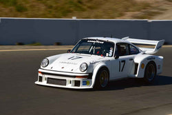 Steven Lawrence - 1977 Porsche 934.5 in Group 8 SCCA Trans-Am, A-Sedans, ISA GTU& GTO cars at the 2019 CSRG Charity Challenge run at Sears Point Raceway