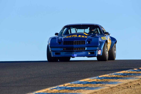 Jeffrey Abramson - 1970 Chevrolet Camaro in Group 8 SCCA Trans-Am, A-Sedans, ISA GTU& GTO cars at the 2019 CSRG Charity Challenge run at Sears Point Raceway