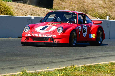 Alan Terpins - 1974 Porsche 911RSR in Group 8 SCCA Trans-Am, A-Sedans, ISA GTU& GTO cars at the 2019 CSRG Charity Challenge run at Sears Point Raceway