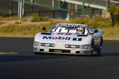 Michael Malone - 1988 Chevrolet Corvette in Group 8 SCCA Trans-Am, A-Sedans, ISA GTU& GTO cars at the 2019 CSRG Charity Challenge run at Sears Point Raceway