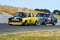 Group 9 SCCA Trans-Am, A-Sedans, ISA GTU& GTO cars at the 2019 CSRG Charity Challenge run at Sears Point Raceway