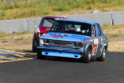 Thomas Dockery - 1971 Datsun 510 in Group 9 SCCA Trans-Am, A-Sedans, ISA GTU& GTO cars at the 2019 CSRG Charity Challenge run at Sears Point Raceway