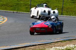 Scott Meredith - 1962 Triumph Spitfire Mk I in Group 1 Sports and GT Cars as raced prior to 1963 & Fromula Vee at the 2019 CSRG David Love MemoriaL run at Sonoma Raceway/Sears Point