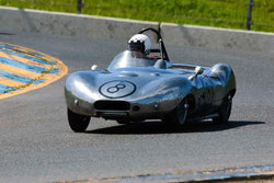 Paul Adams - 1956 Elva Mk 2 in Group 1 Sports and GT Cars as raced prior to 1963 & Fromula Vee at the 2019 CSRG David Love MemoriaL run at Sonoma Raceway/Sears Point