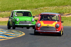 Michael Kearney - 1966 Austin Cooper S in Group 2Small Displacement Production Sports Cars through 1972 at the 2019 CSRG David Love MemoriaL run at Sonoma Raceway/Sears Point