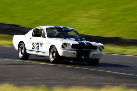 Tom Fry - 1966 Ford Shelby GT350 in Group 3 Large Displacement Production Sports Cars through 1972 at the 2019 CSRG David Love MemoriaL run at Sonoma Raceway/Sears Point