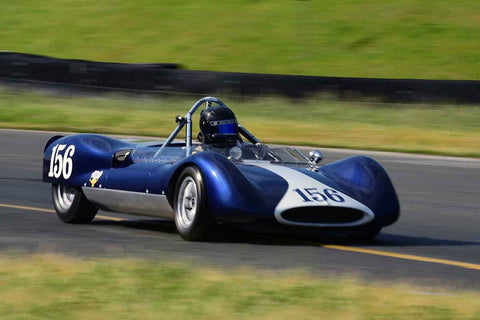 Taylor Fudge - 1961 Genie Genie MK VIII in Group 4 Small Displacement Sports Racing Cars through 1967 & USRRC Racing Cars at the 2019 CSRG David Love MemoriaL run at Sonoma Raceway/Sears Point