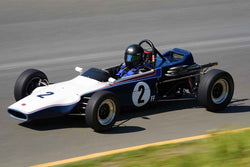 Andrew Warburton - 1971 Caldwell D9-B in Group 5 Formula Ford & Formula Junior open wheel cars at the 2019 CSRG David Love MemoriaL run at Sonoma Raceway/Sears Point