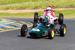 Alberto Fernandez Jr - 1963 Lotus 27 in Group 5 Formula Ford & Formula Junior open wheel cars at the 2019 CSRG David Love MemoriaL run at Sonoma Raceway/Sears Point