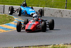 Laurent Parmentier - 1970 Crossle 16/20F in Group 6 Formula Ford open wheel cars at the 2019 CSRG David Love MemoriaL run at Sonoma Raceway/Sears Point