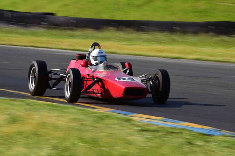Austin Newman - 1971 Lola T202 in Group 6 Formula Ford open wheel cars at the 2019 CSRG David Love MemoriaL run at Sonoma Raceway/Sears Point