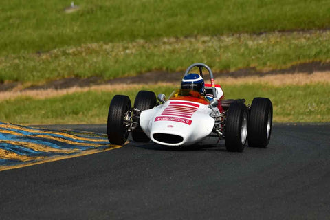 Tony Garmey - 1969 Caldwell D9  in Group 6 Formula Ford open wheel cars at the 2019 CSRG David Love MemoriaL run at Sonoma Raceway/Sears Point