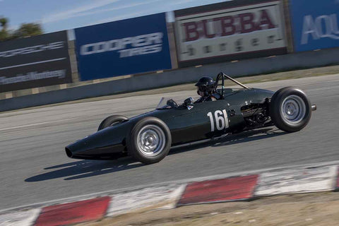 Charles McCabe - 1961 BRM 57 in Group 1 at the 2019 HMSA Spring Club Event run at WeatherTech Raceway Laguna Seca