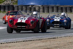 Tim Park - 1964 Cobra in Group 5 at the 2019 HMSA Spring Club Event run at WeatherTech Raceway Laguna Seca