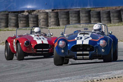 Steve Park - 1962 Cobra in Group 5 at the 2019 HMSA Spring Club Event run at WeatherTech Raceway Laguna Seca