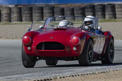 Robert Beede - 1963 Cobra in Group 5 at the 2019 HMSA Spring Club Event run at WeatherTech Raceway Laguna Seca