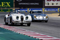 James Alder in Group 1B 1947‐1955 Sports Racing and GT Cars at the 2019 Rolex Monterey Motorsport Reunion run at WeatherTech Raceway Laguna Seca