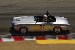 Jeff Marx in Group 1B 1947‐1955 Sports Racing and GT Cars at the 2019 Rolex Monterey Motorsport Reunion run at WeatherTech Raceway Laguna Seca
