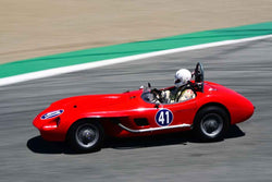 Gary Cox in Group 1B 1947‐1955 Sports Racing and GT Cars at the 2019 Rolex Monterey Motorsport Reunion run at WeatherTech Raceway Laguna Seca