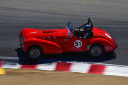 Jon LeCarner in Group 1B 1947‐1955 Sports Racing and GT Cars at the 2019 Rolex Monterey Motorsport Reunion run at WeatherTech Raceway Laguna Seca