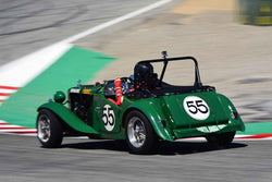 Kaiden Marouf in Group 1B 1947‐1955 Sports Racing and GT Cars at the 2019 Rolex Monterey Motorsport Reunion run at WeatherTech Raceway Laguna Seca