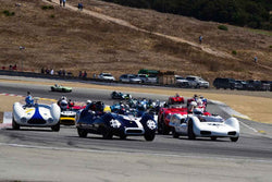 Group 2A 1955‐1961 Sport Racing Under/Over 2000cc at the 2019 Rolex Monterey Motorsport Reunion run at WeatherTech Raceway Laguna Seca