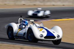 Jonathan Feiber in Group 2A 1955‐1961 Sport Racing Under/Over 2000cc at the 2019 Rolex Monterey Motorsport Reunion run at WeatherTech Raceway Laguna Seca