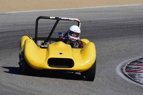 John Willburn in Group 2A 1955‐1961 Sport Racing Under/Over 2000cc at the 2019 Rolex Monterey Motorsport Reunion run at WeatherTech Raceway Laguna Seca