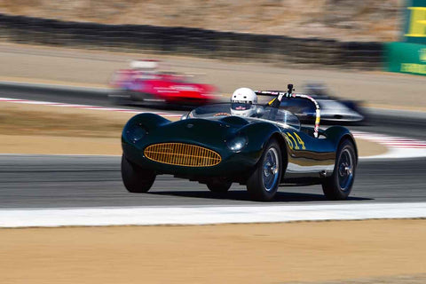 Kevin Adair in Group 2A 1955‐1961 Sport Racing Under/Over 2000cc at the 2019 Rolex Monterey Motorsport Reunion run at WeatherTech Raceway Laguna Seca