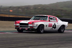 Ronald Tredway in Group 3A 1966 - 1972 Trans‐Am at the 2019 Rolex Monterey Motorsport Reunion run at WeatherTech Raceway Laguna Seca