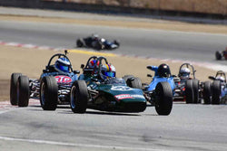 Andrew Wait in Group 3B 1967 - 1981 Formula Ford at the 2019 Rolex Monterey Motorsport Reunion run at WeatherTech Raceway Laguna Seca