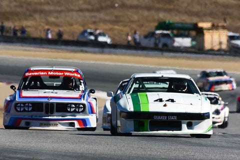 Bill Warner in Group 5A 1973‐1981 FIA/IMSA/GT/GTX/AAGT at the 2019 Rolex Monterey Motorsport Reunion run at WeatherTech Raceway Laguna Seca