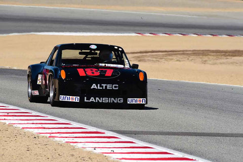 William Lyon in Group 5A 1973‐1981 FIA/IMSA/GT/GTX/AAGT at the 2019 Rolex Monterey Motorsport Reunion run at WeatherTech Raceway Laguna Seca