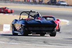Jeffrey Abramson in Group 6A 1963‐1966 GT Cars over 2500cc at the 2019 Rolex Monterey Motorsport Reunion run at WeatherTech Raceway Laguna Seca