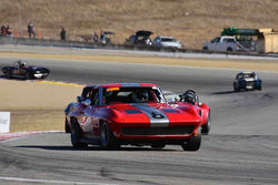 Daniel Haney in Group 6A 1963‐1966 GT Cars over 2500cc at the 2019 Rolex Monterey Motorsport Reunion run at WeatherTech Raceway Laguna Seca