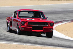 Brad Oldenbrook in Group 6A 1963‐1966 GT Cars over 2500cc at the 2019 Rolex Monterey Motorsport Reunion run at WeatherTech Raceway Laguna Seca