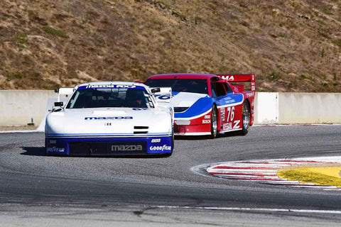 Joel Miller in Group 6B 1981-1991 IMSA GTO/GTU at the 2019 Rolex Monterey Motorsport Reunion run at WeatherTech Raceway Laguna Seca