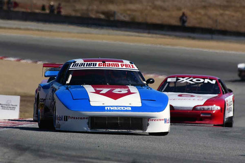 Michael Parsons in Group 6B 1981-1991 IMSA GTO/GTU at the 2019 Rolex Monterey Motorsport Reunion run at WeatherTech Raceway Laguna Seca