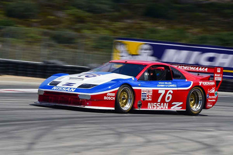Craig Bennett in Group 6B 1981-1991 IMSA GTO/GTU at the 2019 Rolex Monterey Motorsport Reunion run at WeatherTech Raceway Laguna Seca