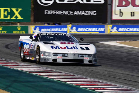 Michael Malone in Group 6B 1981-1991 IMSA GTO/GTU at the 2019 Rolex Monterey Motorsport Reunion run at WeatherTech Raceway Laguna Seca