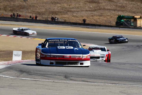 Bob Hardison in Group 6B 1981-1991 IMSA GTO/GTU at the 2019 Rolex Monterey Motorsport Reunion run at WeatherTech Raceway Laguna Seca