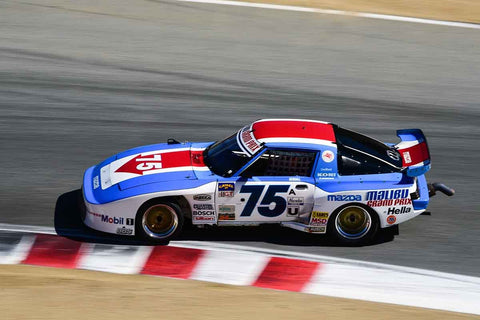 Tommy Kendall in Group 6B 1981-1991 IMSA GTO/GTU at the 2019 Rolex Monterey Motorsport Reunion run at WeatherTech Raceway Laguna Seca